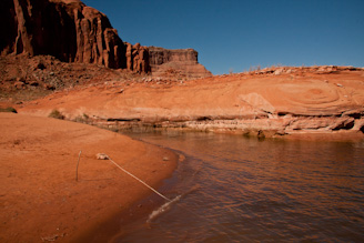 Anchor Line, Dungeon Canyon. Lake Powell