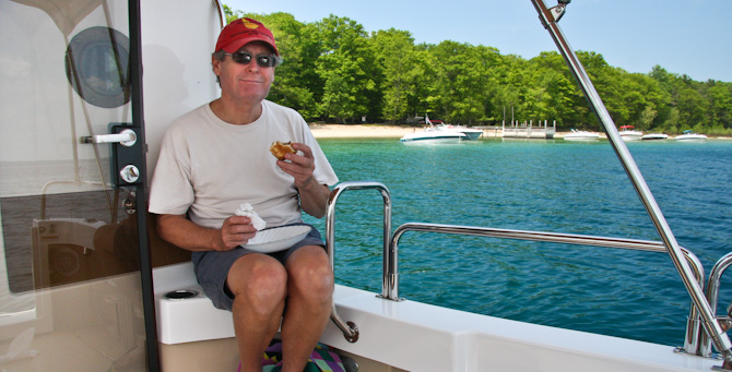 Cruising the West Arm Grand Traverse Bay