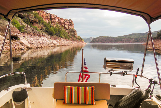 Flaming Gorge Dam And Back To Carter Creek