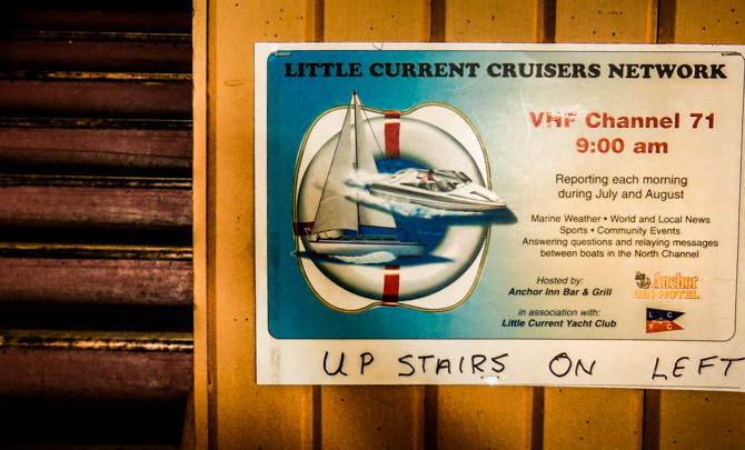 Roy Eaton's, Little Current Cruisers Network