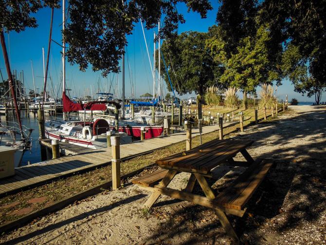 Eastern Shore Marina Fairhope Alabama