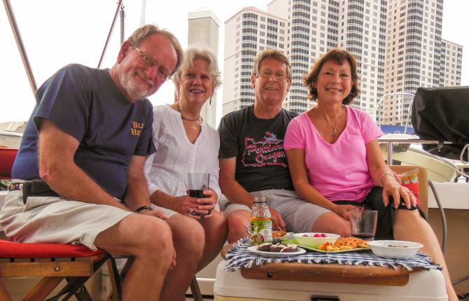 Tom, Patsy Conrad, Jim, Lisa Favors