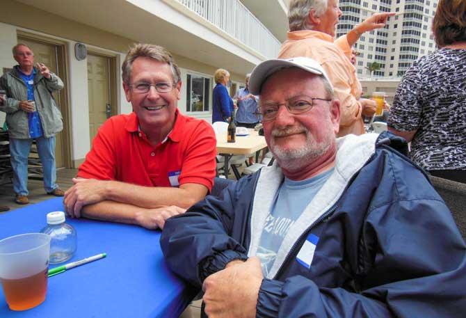 Tom Conrad and Jim Favors