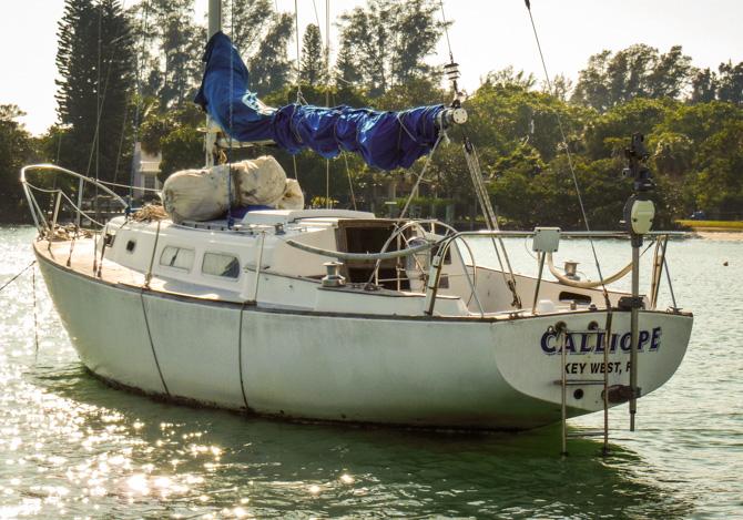 Calliope Sailboat, Longboat Key, Florida