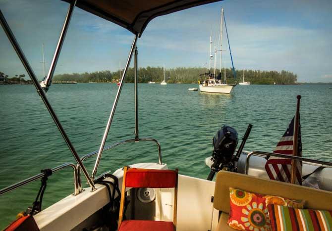 Kismet at Anchor, Longboat Key, Florida