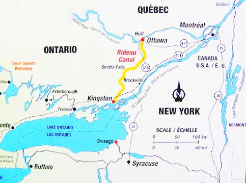 Triangle Loop Cruise – New York State And Canada