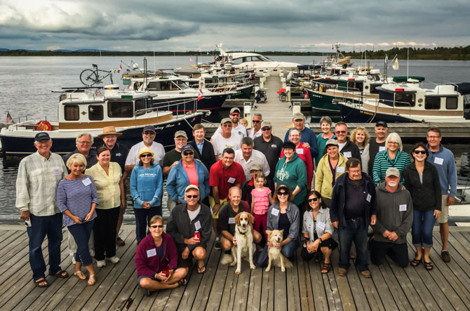 Day Three – North Channel Presentation, Boat Crawl And Pizza Party