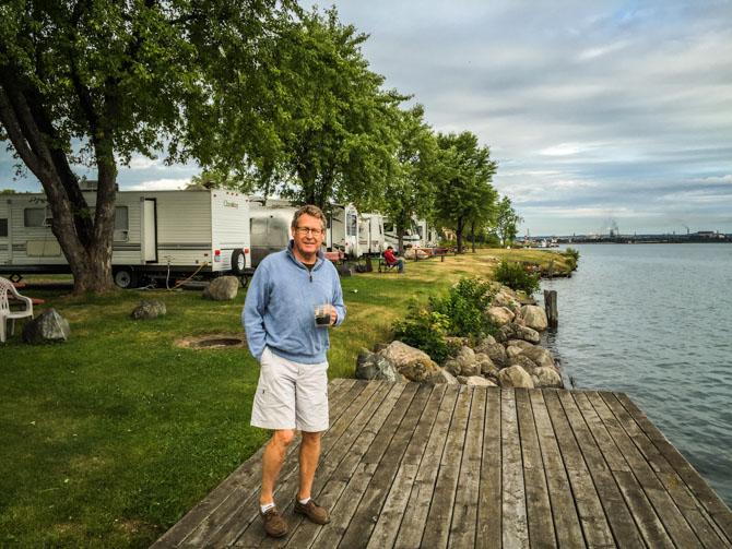 Boaterhoming at Sault Ste. Marie, Michigan