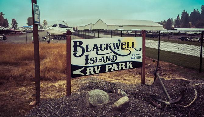 Coeur ď Alene - Blackwell Island RV Park